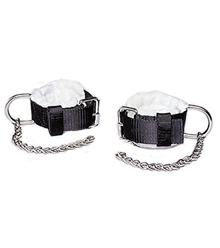 Tough 1 One Pair Fleece Lined Kicking Chains Hobbles - Kicking Chain