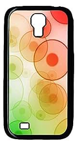 Samsung S4 Case Beautiful Color Circle PC Custom Samsung S4 Case Cover Black