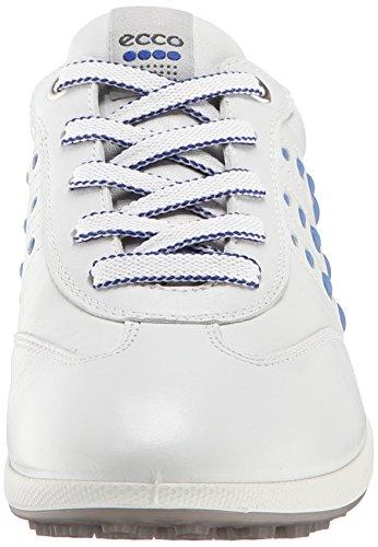 One Zapatos Women's Golf Mujer Street Ecco de EVO Azul para Blanco UZwxdqf