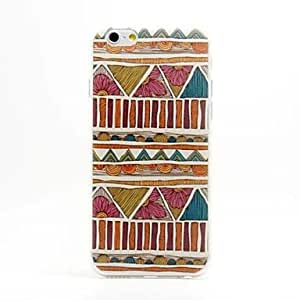 LZX Specially Designed Pattern TPU Cover for iPhone 6