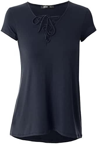 Prime Hot JayJay Women U-Neck Shoulder Off Ruffle Design Top Shirts
