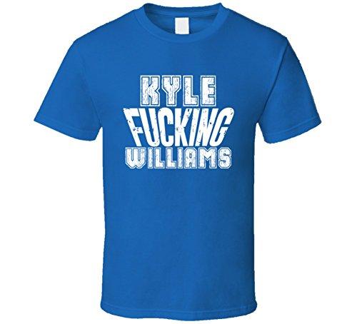 Fcking Kyle Williams Buffalo Football Team Favorite Player Fan T Shirt L Royal Blue