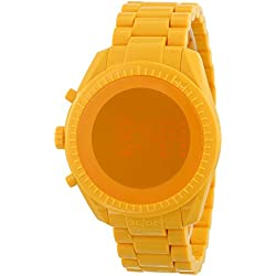 o.d.m watch Castelbajac design model PHANTIME digital display 5 ATM water resistant shiny yellow JC06-4 Men's [regular imported goods]