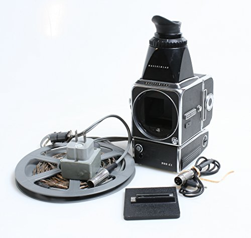 Hasselblad 500EL WITH Power Winder,charging cord,chimney viewfinder ()