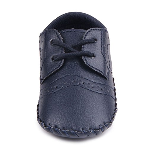 Pictures of MiYuebb Infant/Toddler Handmade Oxford Shoes Hard 5