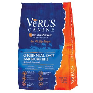 Verus Life Advantage Dog Food 15 lb