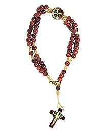 Catholica Shop San Benito Saint Benedict Medal Beaded Rosary Bracelet