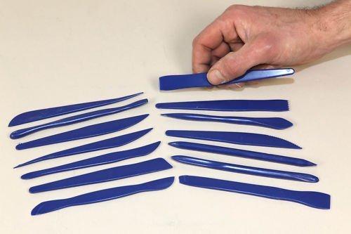 14 Piece Clay Plastic Modelling Set