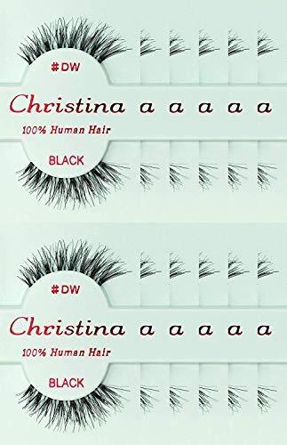 24 Packs Eyelashes - #DW (Christina)...