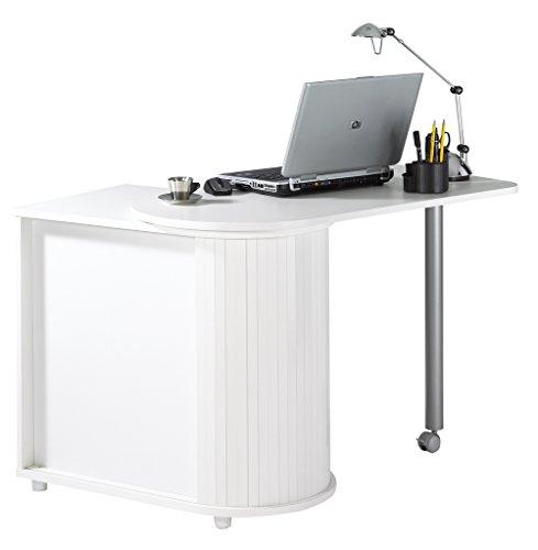 simmob cool100bl Drehtisch/Waschtisch Aufbewahrungsschuppen Küche Holz weiß 55x 105x 74,7cm US
