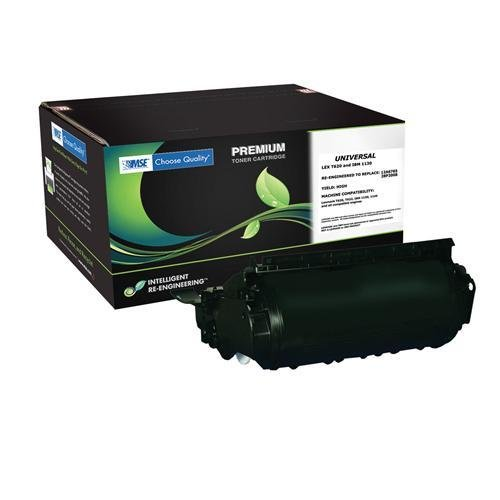 (MSE Toner 12A6765,12A6865,28P2008 for Lexmark T620,622,Ibm Infoprint 1130,1140 - 30,000 Yield)