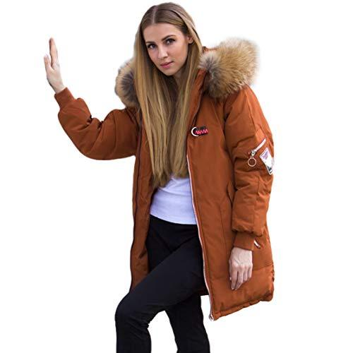 Female Large Real Raccoon Fur Winter Jacket Women Warm Thicken Hood Winter Coat Cotton Down Parka Plus Size -