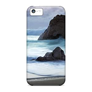 XiFu*MeiProtection Cases For iphone 4/4s / Cases Covers For Iphone(beach)XiFu*Mei
