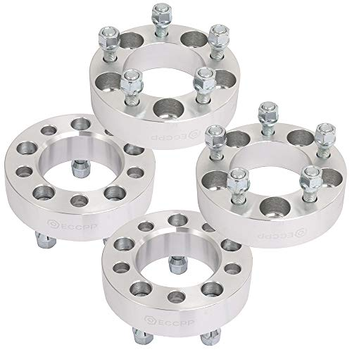 ECCPP Replacement 5x4 5 Wheel Spacers 5 Lug 1 5(38mm) 5x4 5 to  5x4 5|5x114 3 to 5x114 3 1/2 x20 Studs fits for Lincoln MKX Jeep Liberty  Mercury Grand