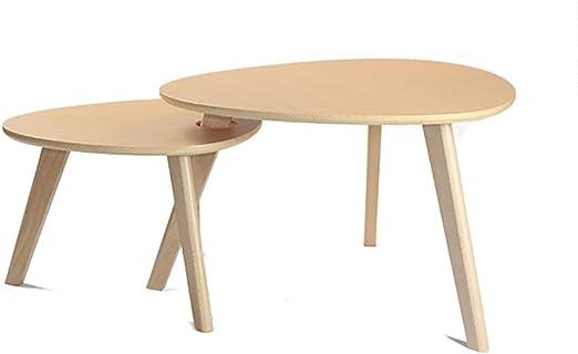 Amazon Com Small Nesting Coffee Tables Set Of 2 Mid Century