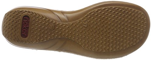 Sandals Women's Closed Rieker Toe 22 Brown Cognac 608y0 pPRxHnO
