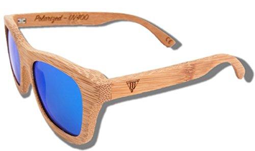 Sol Blue Lion Gafas de Madera de RHTw1AyaHc