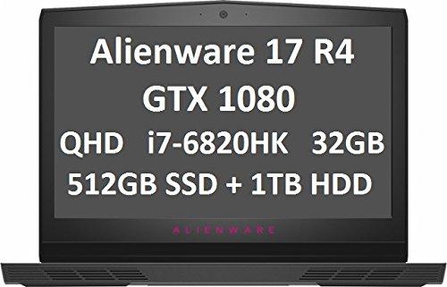 Comparison of Alienware 17 (R4) vs Gigabyte AERO 15 OLED YA-9US5750SP (AERO 15 OLED YA-9US5750SP)