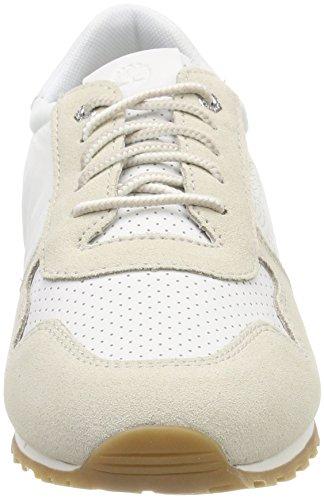Oatmeal Timberland para L06 Cordones de White Zapatos Milan Blanco Mujer Oxford Flavor zz7HpA