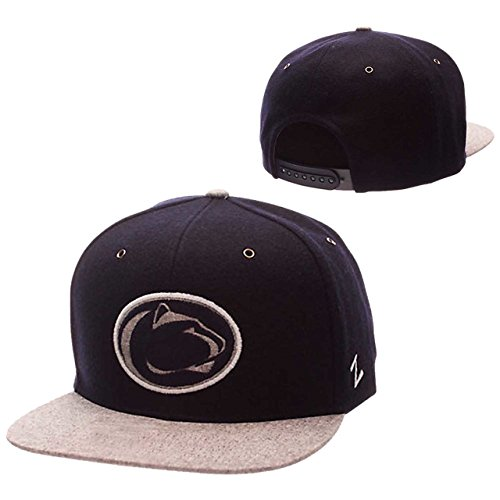 Lions State Nittany Penn Brass - ZHATS NCAA Penn State Nittany Lions Adult Men's Executive Snapback Hat, Adjustable Size, Team Color/Gray
