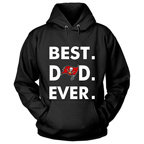 Father Day, Tampa Bay Buccaneers T Shirt, Best Dad Ever T Shirt - Hoodie (M, ()