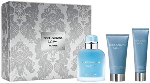Dolce & Gabbana Dolce & Gabbana Light Blue Intense Homme Edp 100Ml + After Shave 75Ml + Gel De Ducha 50Ml 225 ml: Amazon.es: Belleza