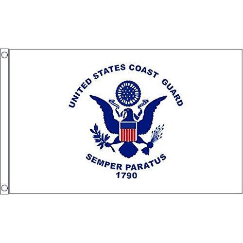 united states coast guard flag - 1