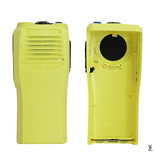 (GSTZ Yellow Replacement Repair case Housing Cover for Motorola CP200 Portable Radio)