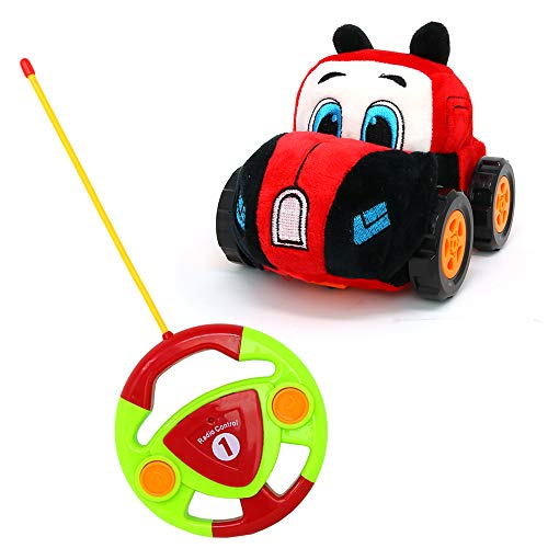 Big Mos Toys RC Car - Remote Control Race Car Gift for Babies and Toddlers with Plush Cover