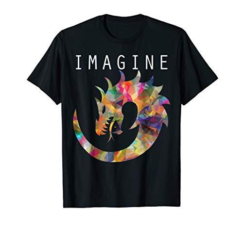 Fantasy Dragon IMAGINE T-Shirt For Dragons ()
