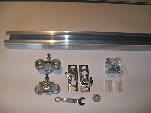 Series 2 HBP Heavy Duty Pocket Door Track and Hardware Kit (60