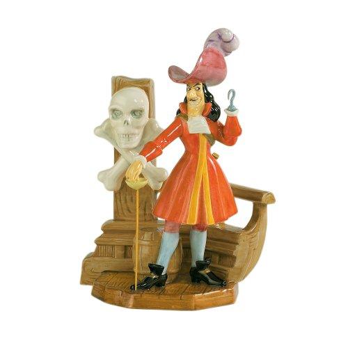 Royal Doulton Captain Hook Disney Showcase