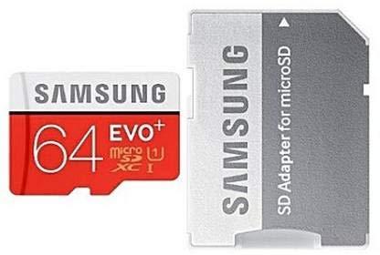 Buy Surenty D 64  GB MicroSD Card Class 10 95 MB/s Memory Card