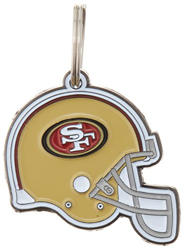 NFL Dog TAG - SAN Francisco 49ERS Smart Pet Tracking Tag. - Best Retrieval System for Dogs, Cats or Army Tag. Any Object You'd Like to - Dog 49ers Tag