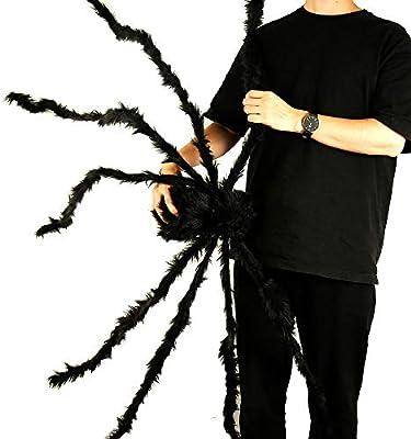 Dightyoho Halloween Decoración Telaraña Grande Plástico Halloween ...