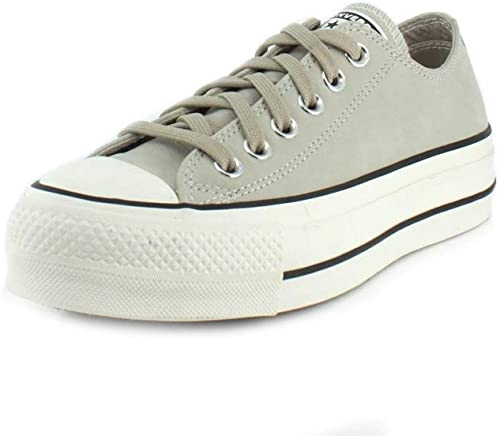 Converse Chuck Taylor all Star Lift Ox Sneakers Femmes Beige