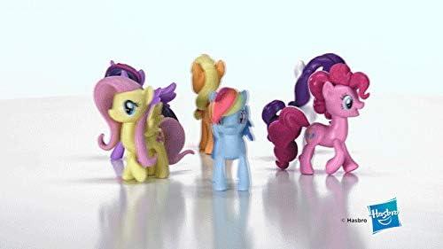 Hasbro My Little Pony- Incontra la Collezione Mane 6 Ponies, Multicolore, E1970EU4