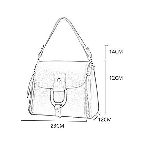 ANLEI à 937 Main Femmes WXP 5 23 12cm bandoulière à Sac PU Mode 05 Sac Couleurs Bag 12 Messenger La IxnqvrXI