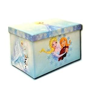 Disney Frozen Elsa Amp Anna 24 Quot Foldable Storage Ottoman