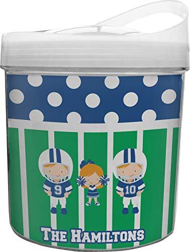 Football Plastic Ice Bucket -