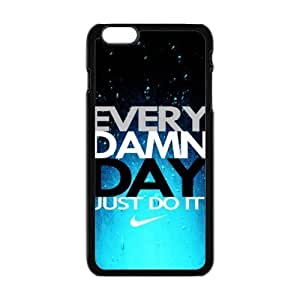 Hard Plastic Cover Case NIKE logo Just Do It Apple Iphone 6 4.7 Inch
