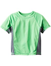 Boys' Color Block UPF 50+ Swim Tee