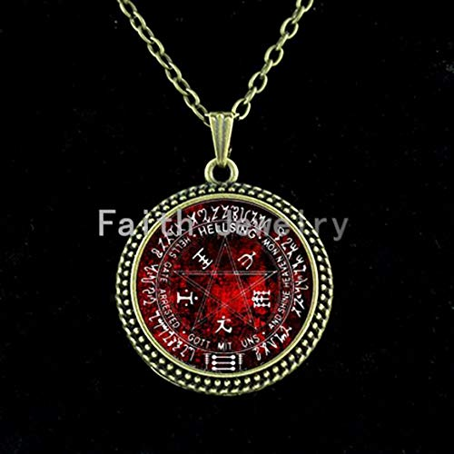 Chain Necklaces - Hot Sale Amazing Fashion Alloy Silver Jewelry Hellsing Inspired Chain Necklace Supernatural Accessories Personality Gift N 037 - by TAFAE - 1 PCs -
