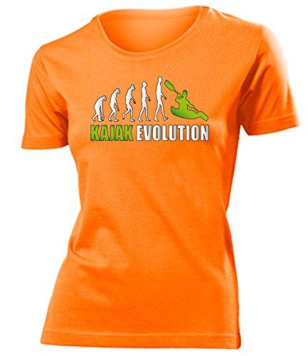 KAJAK EVOLUTION 619(F-ORA-Weiss-Grün) Gr. M