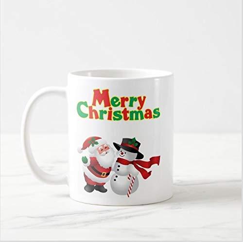 - Merry Christmas 08, Christmas Mug, Snowman Mug,Santa Mug, Holiday Mug, Winter Mug, Christmas Mugs,fun mug,Can be personalised