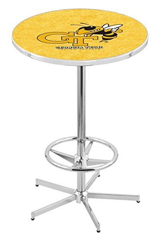 Georgia Pub Table - Holland Bar Stool L216C Georgia Tech Officially Licensed Pub Table, 28