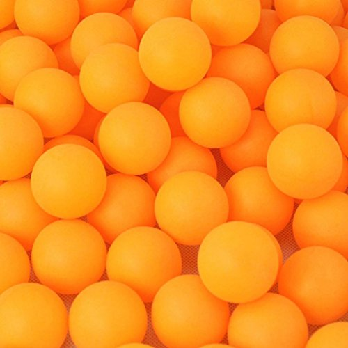 Ameesi 40mm/1.6inch Pack of 150Pcs Balls Practice Ping Pong Balls Table Tennis Ball Set - Yellow