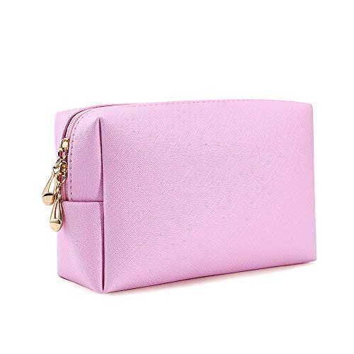 Zevrez Women's Cosmetic Bags Small Travel Clutch Pouch Makeup Bag (Pink) ()