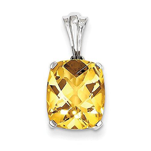 De citrine avec pendentif en argent 925 pour collier jewelryWeb ovale
