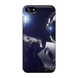 Iphone 5/5s Gap4690rcER Provide Private Custom Fashion Daft Punk Random Access Memories Pattern Bumper Hard Phone Covers -PhilHolmes
